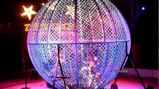Motorcycle Globe Of Death  - Zippos Circus - High Wycombe - 2011