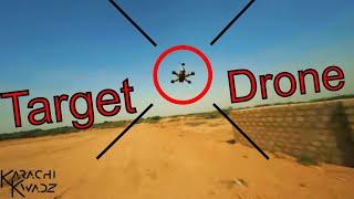 Flight of a Kwad | Chasing games, FPV Karachi Kwadz
