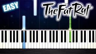 TheFatRat - The Calling (feat. Laura Brehm) - EASY Piano Tutorial by PlutaX