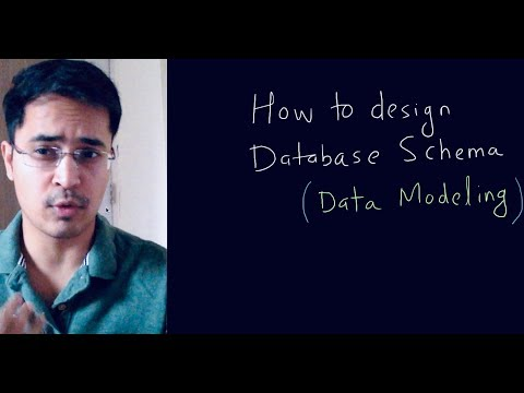 How to design database for a project
