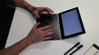 Unboxing the BRAND NEW YOGA BOOK from Lenovo