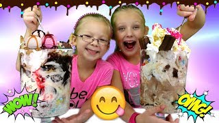 World's YUMMIEST ICE CREAM SUNDAE Challenge!!!