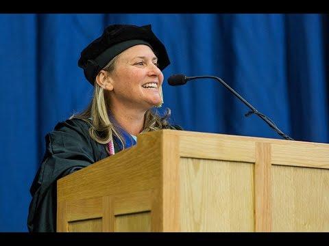 Leslie Goldstein Delivers Winter 2016 Commencement Address