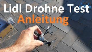 Lidl Drohne Test: Flugzeit, Reichweite, Crashtest, Anleitung (RC Stunt Drohne)