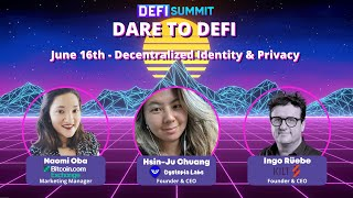 Identity & Privacy – DeFi Conference Day 2