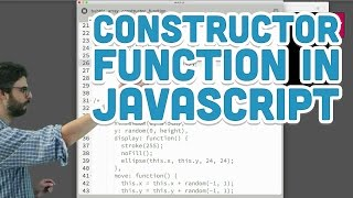 Download Youtube: 7.4: The Constructor Function in JavaScript - p5.js Tutorial