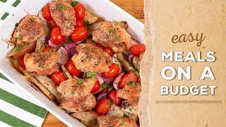 3 Budget-Friendly Meals   Dinner Made Easy