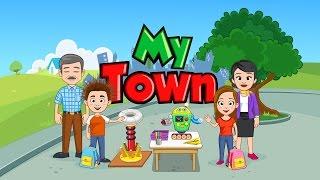 My Town Дети в НОВОЙ ШКОЛЕ проводят эксперименты МУЛЬТИК для детей про школу KIDS CHILDREN