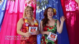 Pin-Ups on Tour Annouces Hawaii Trip!