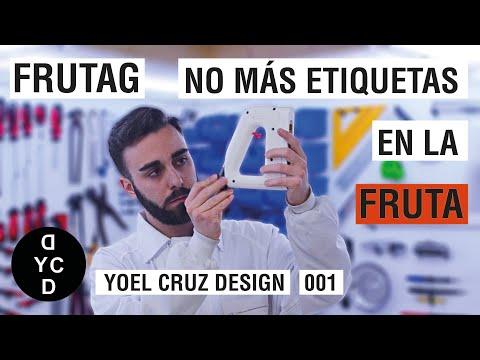 FRUTAG. NO MÁS ETIQUETAS EN LA FRUTA. [[ Yoel Cruz Design 001 ]]