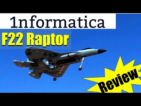 XK A180 F22 Raptor 320mm Wingspan Switchable 3 Axis or 6 Axis Gyro EPP RC Airplane RTF Review Flight