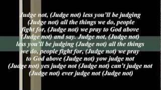 Morgan Heritage Judge Not (song Lyric)