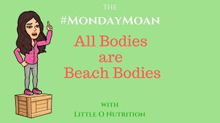 ALL BODIES ARE BEACH BODIES