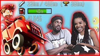 SAVAGE LEVELS ARE TOO HIGH! COPS HAD TO CALL ME TO STOP! - Hill Climb Racing | Mobile Series Ep.29