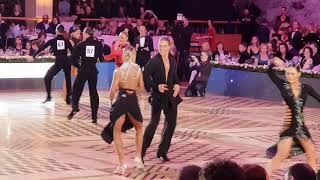 Kirill Alexandrov  & Anastasiya Dubrovskaya Cha-Cha 1/2 Kremlin Cup Amateur Latin