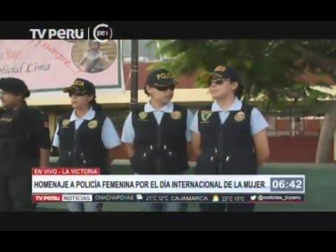 Policia Femenina Celebra El Dia Internacional De La Mujer Tvperu Colección de santa tomasa cruz mejillones. policia femenina celebra el dia