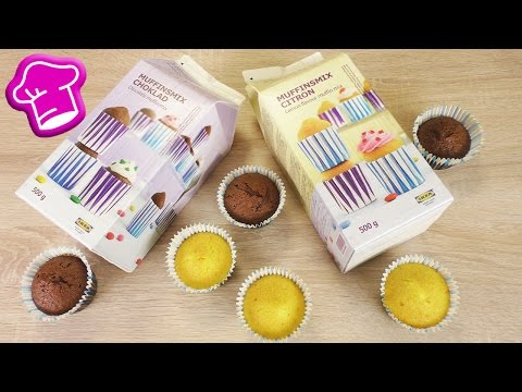 IKEA Muffin Backmischung im Test   Schoko & Zitrone   NUR Wasser dazugeben   mit Überraschungsgast