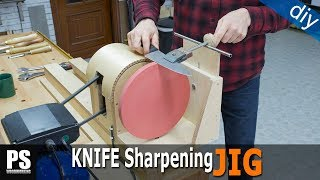 Homemade Knife Sharpening Lathe Attachment