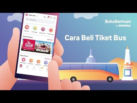 Cara Beli Tiket Bus Online di Bukalapak | BukaBantuan