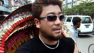 preview picture of video 'アキーラさん市内散策8デモ編!バングラデッシュ・ダッカ!Dahka,Bangladesh'