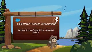 Scheduled Actions Workflow Rules, Process Builder and Lightning Flow