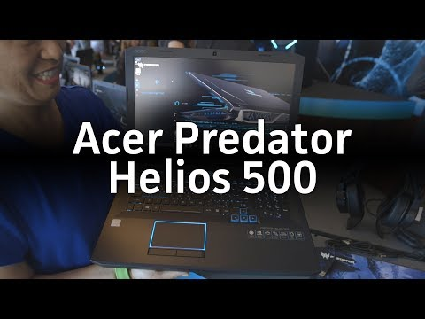 Acer Predator Helios 500 gaming laptop first look