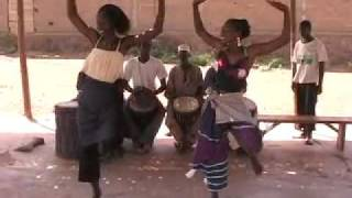"African Dance: MALI  West African Dance,  African Chants, Djembe Drums, ""Danza"" (Diansa, Dansa)"