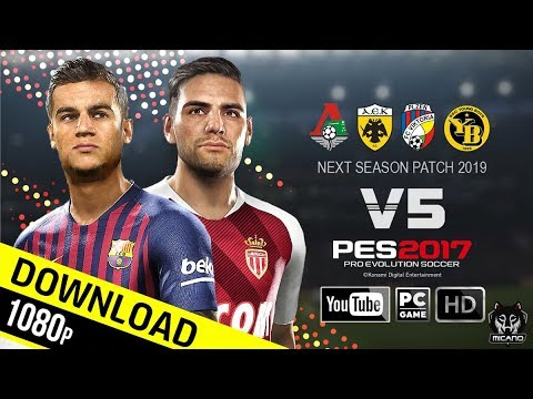 PES 2017 | Next Season Patch 2019 Update V5.0 AIO | Download & Install
