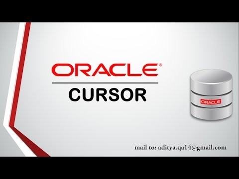PL/SQL tutorial | Cursor in Oracle Database 11g Complete guide