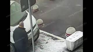 Камера запечатлела момент убийства болельщика после хоккейного матча в Сергиевом Посаде