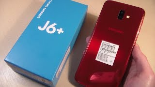 Обзор Samsung Galaxy J6+ Plus (J610F)