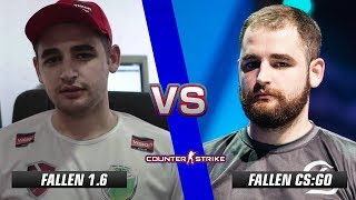 FalleN CS 1.6 vs FalleN CS:GO