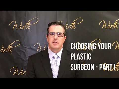 Choosing Your Plastic Surgeon, Part 1 video