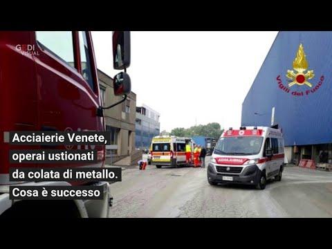 Padova. Incidente alla Acciaierie Venete, operai ustionati. Cosa è successo
