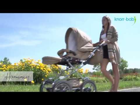 Knorr Baby Harmony Kombikinderwagen Klassisch Eco-Leder