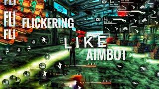 Free fire flickering problem, play like aimbot hacker