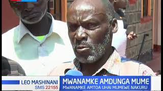 Mwanamke Nakuru azuiliwa na polisi kwa madai na kuua mumewe