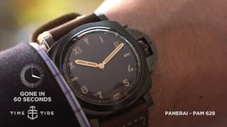 GONE IN 60 SECONDS - Panerai PAM 629