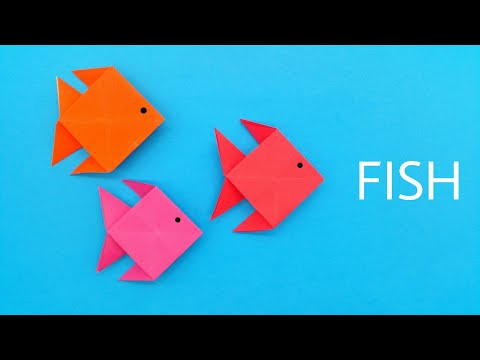 Origami Fish - DIY Tutorial by Paper Folds - 992