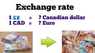 Euro to cad l euro to canadian dollar exchange rate l cad to euro | convert euro to cad