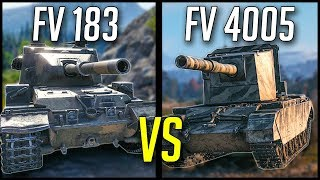 ►World of Tanks: FV4005 vs FV215b 183 - The Ultimate HESHGASM!
