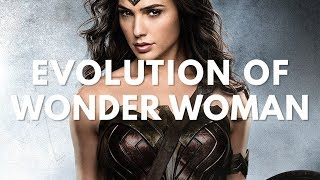 Wonder Woman Movie & TV Evolution (Lynda Carter to Gal Gadot) with Justice League Trailer 2017