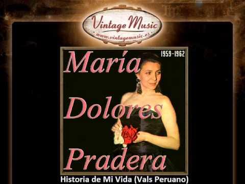 Maria Dolores Pradera -- Historia de Mi Vida (Vals Peruano) (VintageMusic.es)