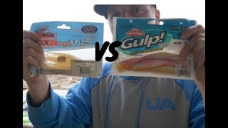Berkley Gulp! Vs. Z-Man - Soft Plastic Comparison and Tutorial
