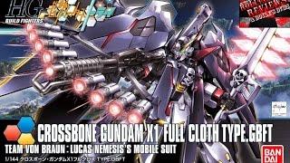 Review: HGBF 1/144 Crossbone Gundam X-1 Full Cloth Ver. GBTF