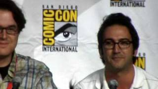 Clip from Chuck panel at Comic-Con 2010 about guest star Linda Hamilton & more