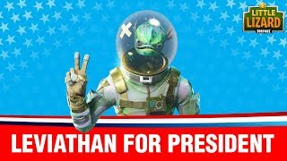 VOTING FOR A FORTNITE PRESIDENT!  Fortnite Short Film