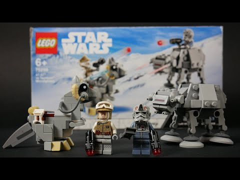 Vidéo LEGO Star Wars 75298 : Microfighters AT-AT contre Tauntaun