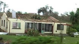 Cyclone Pat Damage In Aitutaki #2e - Weds 10 Feb 2010