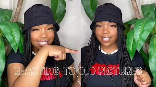 REACTING TO MY OLD PHOTOS | OUTFIT EDITION